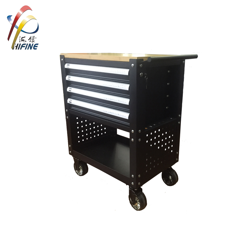 New Style Garage Storage 6 Drawers Tool Cabinet with Work Top