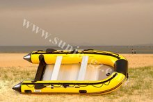 2013 new pvc inflatable aluminum floor motor boat inflatable boats with engine