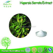 Manufacturer supply high quality Huperzia Serrate P.E/Huperzia Serrata Extract,1~99% Huperzine A