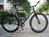 700C hot sale with all black color specialized fixed gear bike