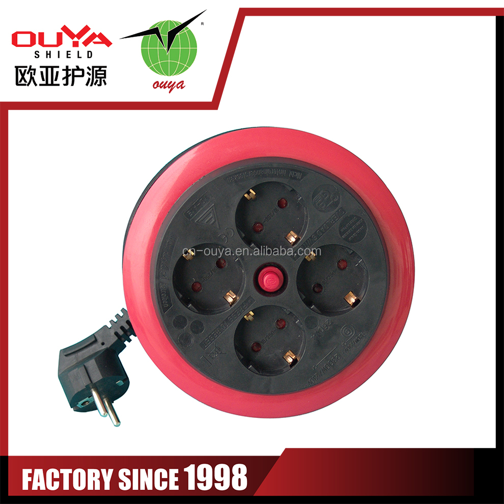 pp cable reel for fish braid line fabric cord electrical cord reel