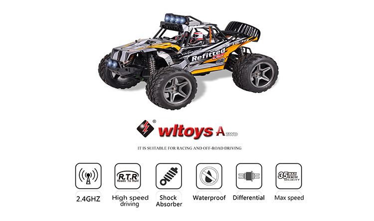 1:12 4WD desert off-road vehicle RC Car