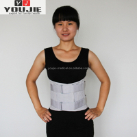 Wholesale high quality knitting brace belt healthy waist supporter breathable waist support