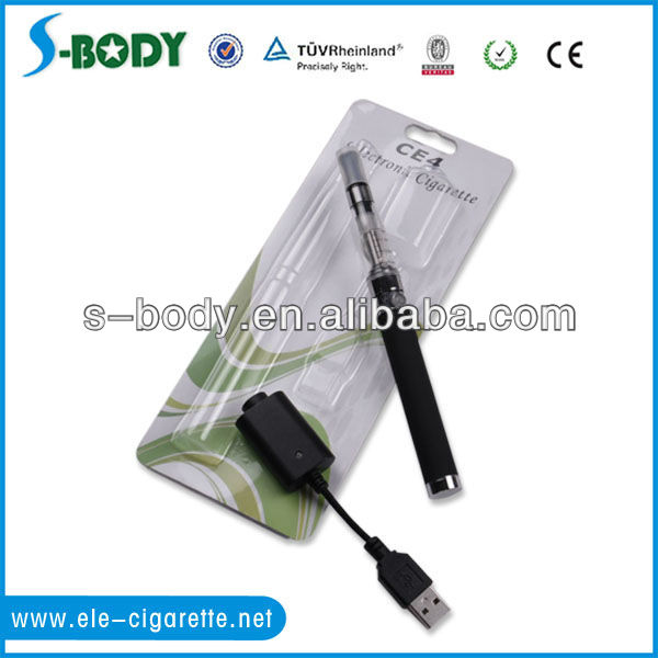 Global blister package CE4+ clear atomizer 650mAh Ego e-cigarettes