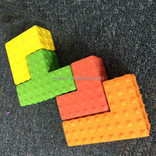 Hot sale recycled plastic lightweight building blocks supplier