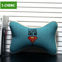 Classic American Cartoon Pattern Car Seat Neck Pillow Memory Foam Car Travel Neck Support Pillow