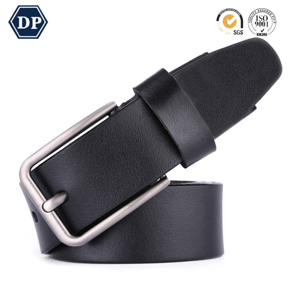 wholesale Business Casual new design genuine leather belt men
