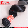 Loose Hair Weaving 100 percent non-remy Brazilian Hair Real Hair