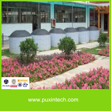 professional concreted puxin household biogas plant to get biogas for cooking