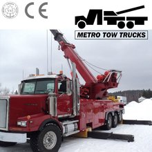 Rotating Crane Tow Truck