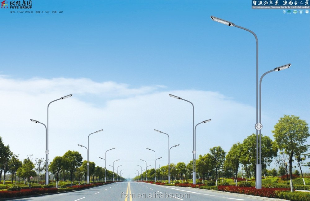 cost-effective square shaped street lighting pole lamp post