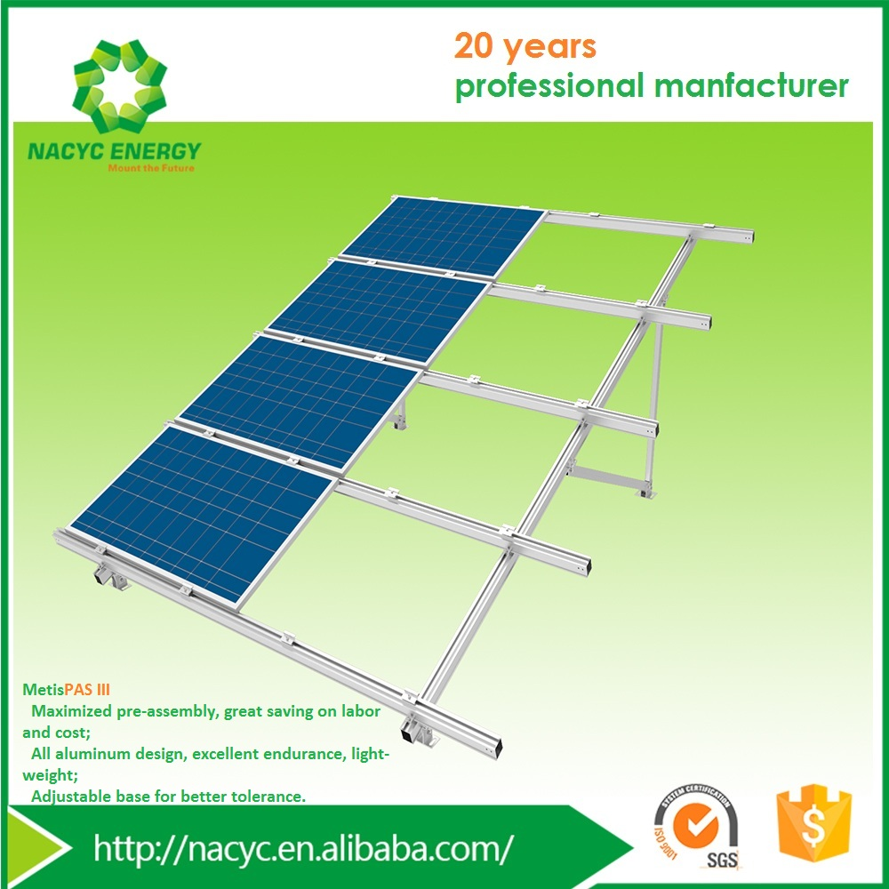 Competitively-priced Ground Solar Panel Mounting Structure MetisPAS III for Solar Energy System