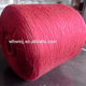 22/3 China high quality dyed color cheap spun polyester yarn