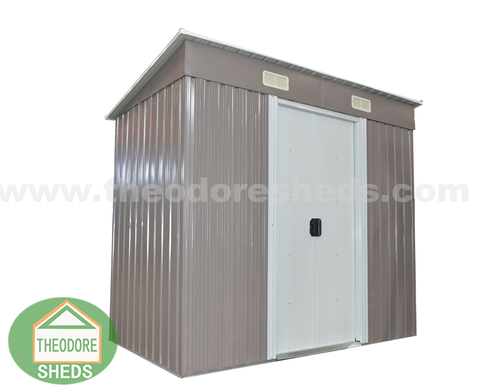 Metal sheds with pent roof 0408 ST-PE-1
