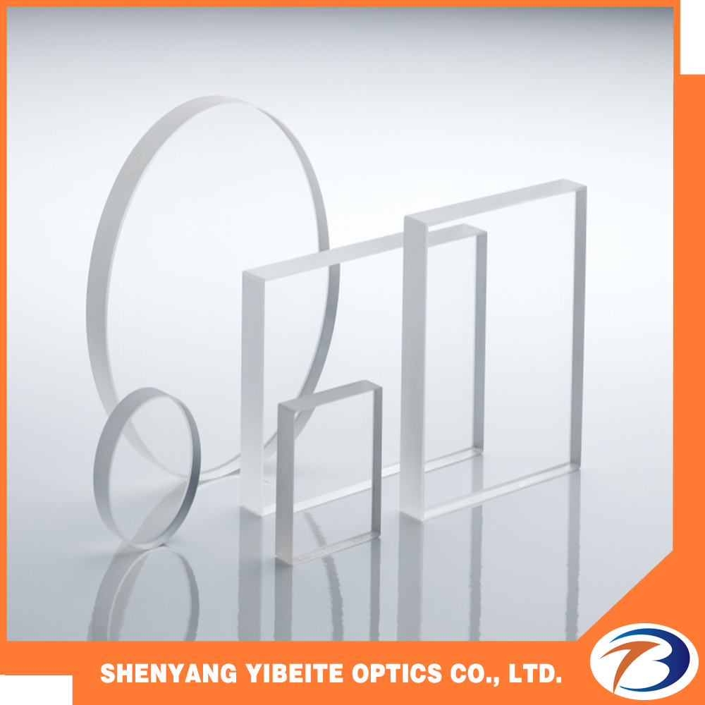 YBT Quartz Glass Sheet Diameter 15mm CaF2 Calcium Fluoride Optical Windows for Optical Instrument