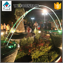 Modern Outdoor Decorative Water Fountain Jet Lighting