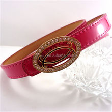 2014 Crystal Dressing Silicone Rubber Golf Belts