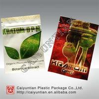 Cheap promotional foil tablet capsule packaging with tear notch and zipper