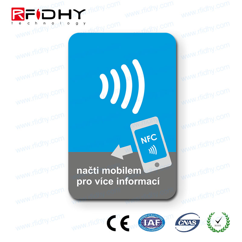 China factory nfc sticker customized encoded nfc tag with URLs