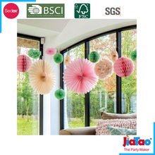 wholesale high quality Chinese paper fans for wedding decoration