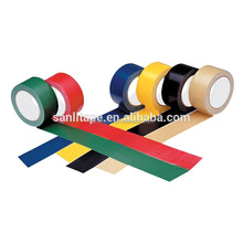 SGS factory custom logo printing free sample PVC Warning Tape , RoHS Certificated PVC Tape pvc electrical tape