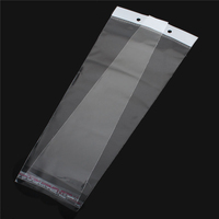 High Quality Transparent W/ Hang Hole Plastic Self-Seal Bags