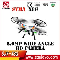 2015 New Version Syma X8G 2.4G 4ch 6 Axis Venture with 5MP Wide Angle Camera RC Quadcopter RTF RC Helicopter