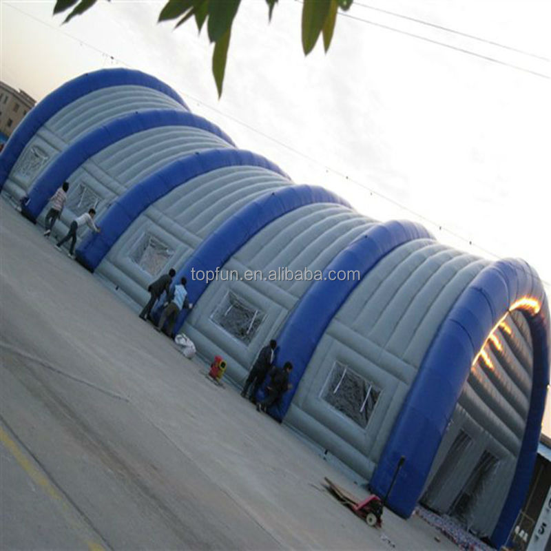 18m Large PVC Inflatable Tent / Dome Tent for warehouse