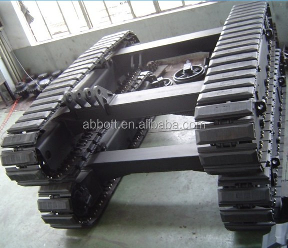 8T Rubber track undercarriage(for excavator ,drill machine etc.)