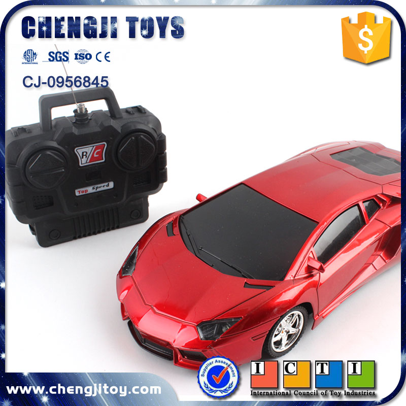 Best selling 1:18 high speed kids toy with light rc car remote control