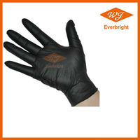 FDA,CE,ISO approved AQL1.5,2.5,4.0 aloe nitrile gloves for medical,dental,food,industrial service