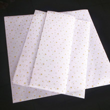 wholesales printed tissue wrapping paper for clothes
