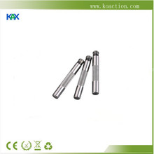 Motor shaft with keyway, thread, high quality steel, can be customized