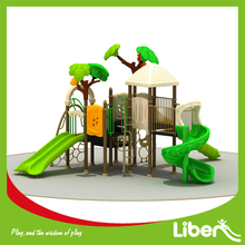 Second Hand Out Door Playground Equipment For 5m High