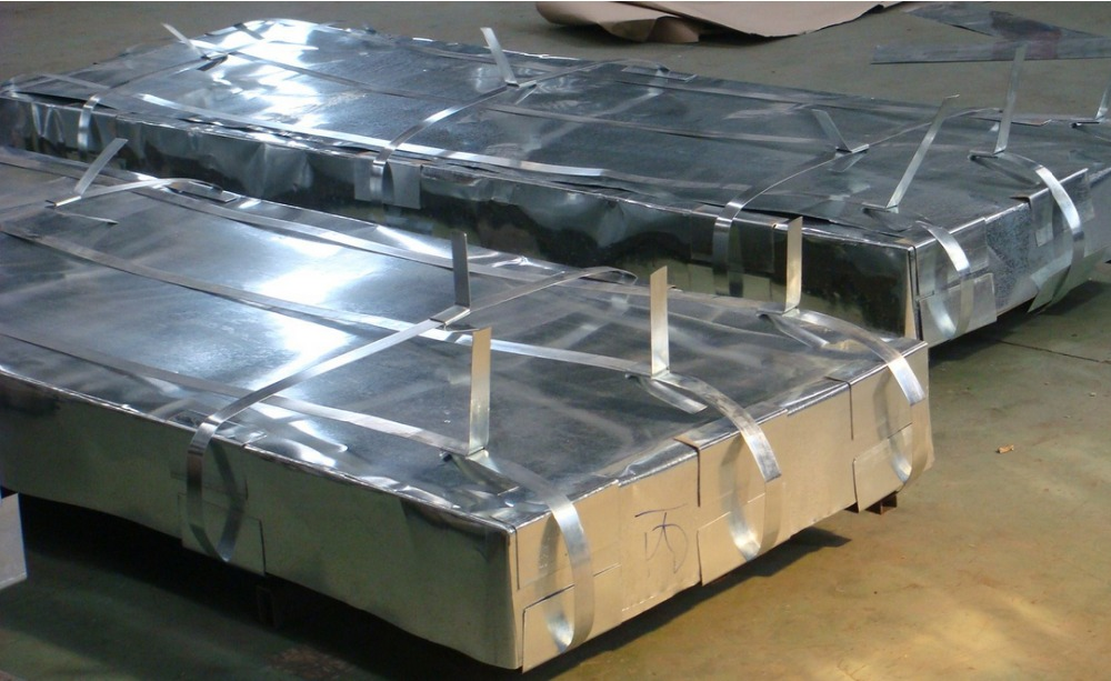 large stock ! whole sale quality corrugated steel plated