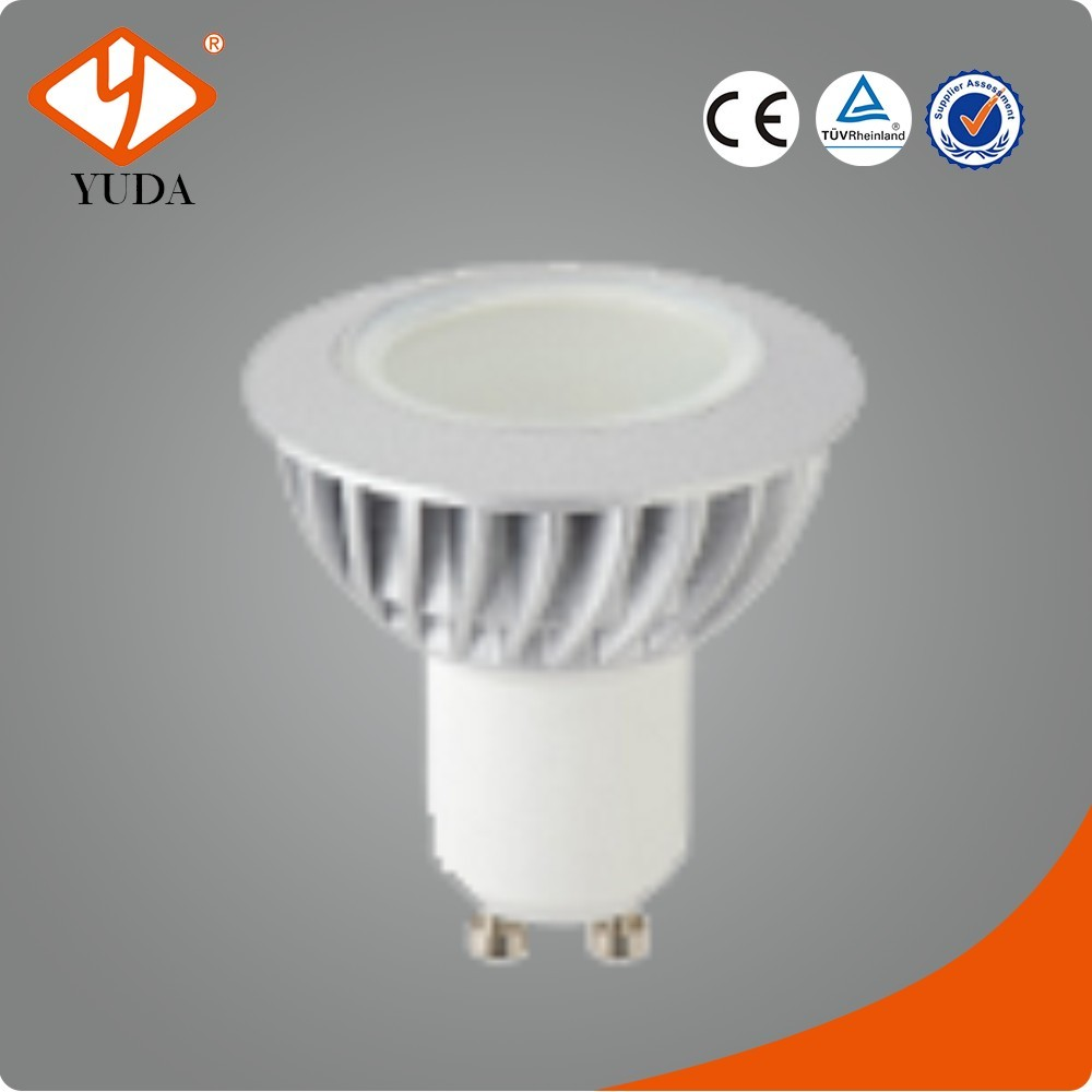 AC100-240V 3W GU10 White Bulb LEDS China Lampe A Led
