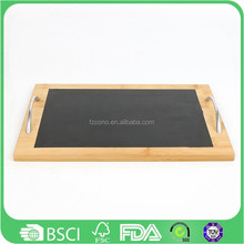 Eco-friendly Cushion Dinner Bamboo Lap Tray and fast food serving tray