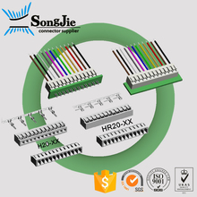 2mm 2.0 2.0mm pitch size connector female gender, right angle/straight board-in type housing connecter