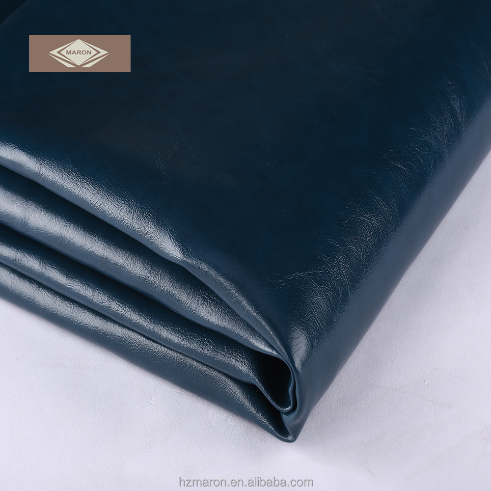 Favorable price PU synthetic leather pvc leather fabric for sofa