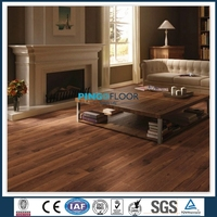 OAK COLOR REAL WOOD FEELING V-GROOVE TYPE LAMINATE FLOATING FLOORING 8MM