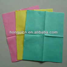 Super water and oil absorption viscose&polyester needle punched nonwovens multi purpose magic clean kitchen wipe cloth