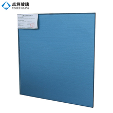 Energy Saving 8mm Dark Blue Reflective Glass for Curtain Wall