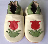 Soft Sole Leather Baby Shoes Infant Shoes Accept OEM Quick Delivery DMYI305