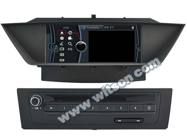 WITSON STEREO FOR BMW X1 DVD GPS A8 Chipset Dual Chipset,3G modem / wifi/ DVR (Option)