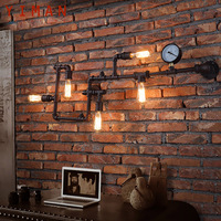 Water Pipe Wall light Antique Finish Wall lamp Retro Industrial Wall light fixture