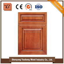Best sale new design cheap kitchen cabinets with wood door