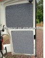 Needle punched nonwoven fabrics for car door panel