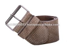 Belt ladies in leather pyton 735P