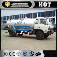 SINOTRUK 4x2 10-16m3 Sewer Cleaning Truck HOWO used vacuum sewage suction truck for sale