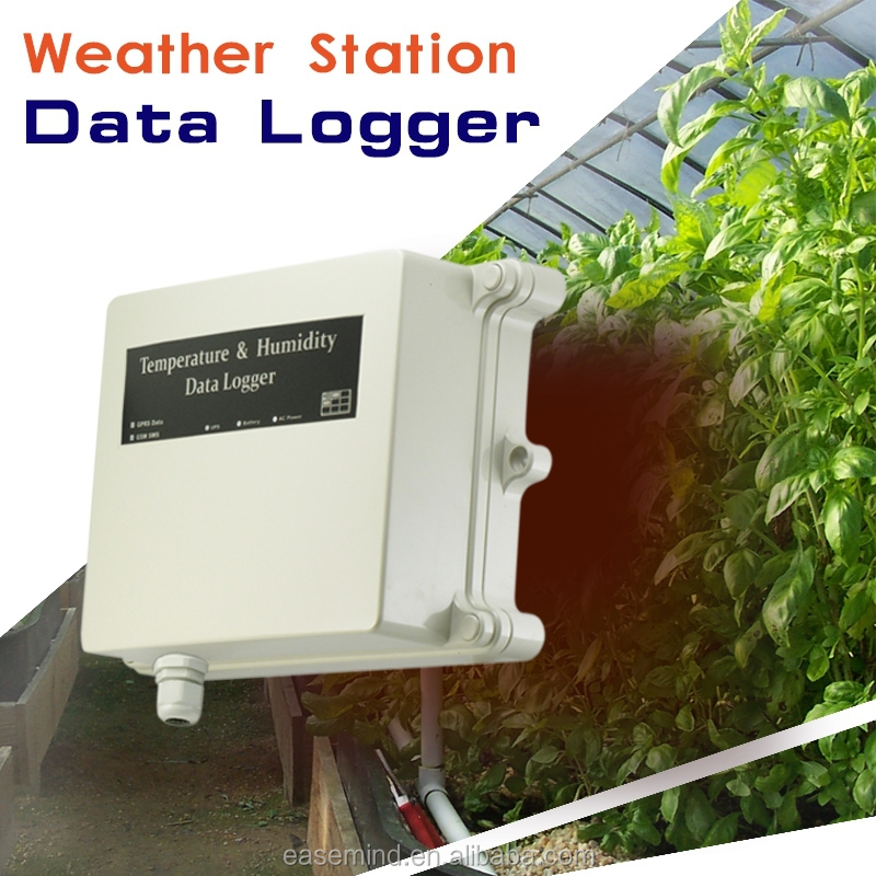temperature monitoring systems Weather Station for Low Power Wireless data logger